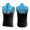 Doltcini fietskleding dames body blauw